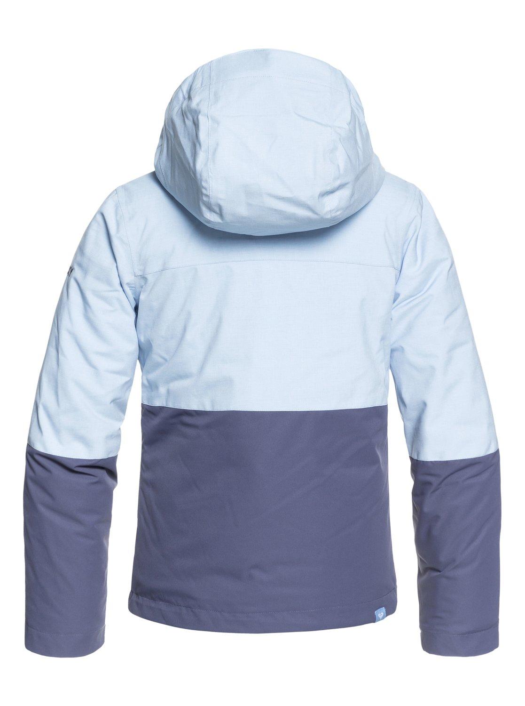 bbb6931bce 1 ROXY Jetty Block - Snow Jacket for Girls 8-16 Blue ERGTJ03059 Roxy