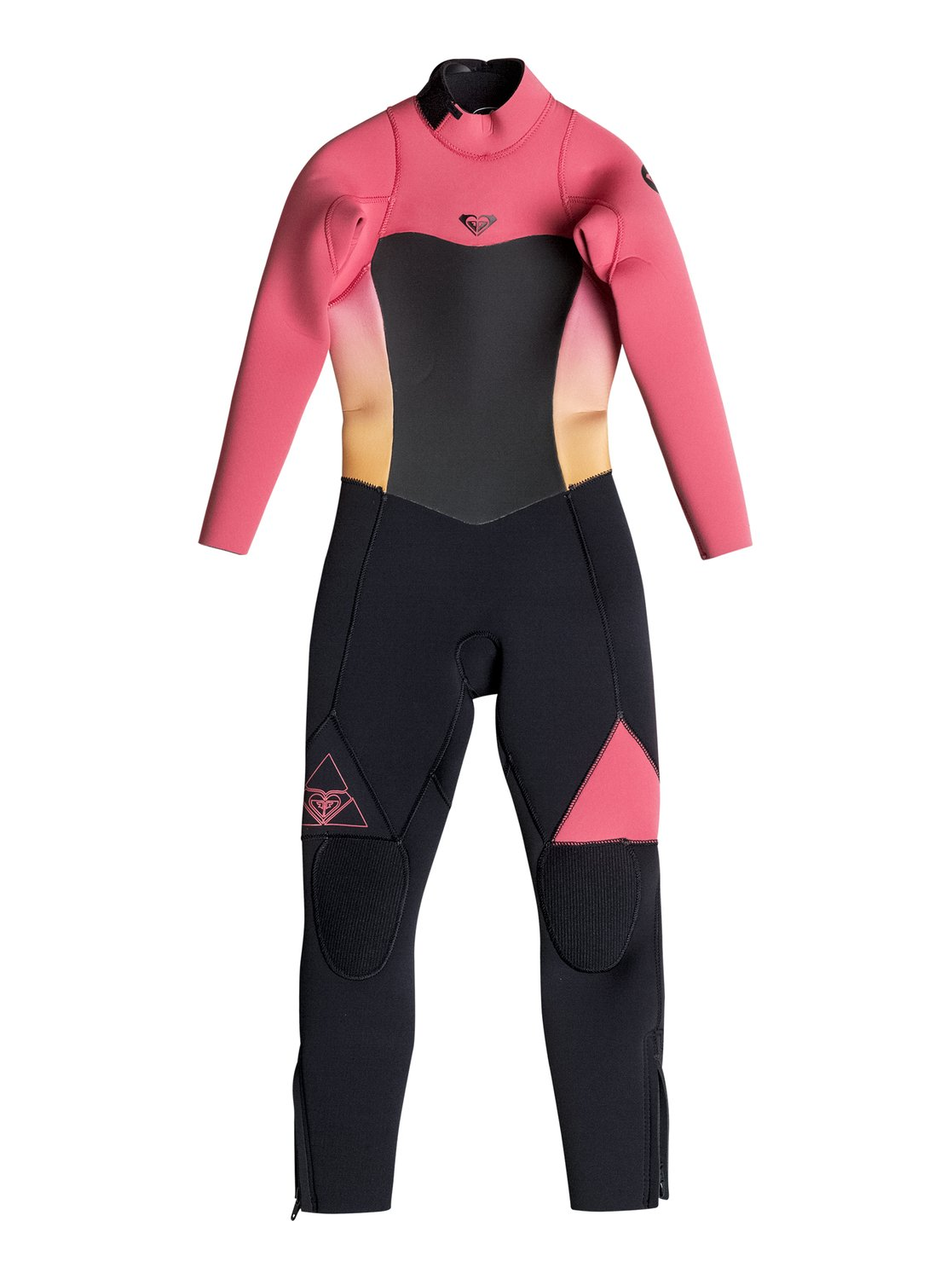 bd7239a17d 0 Girl s 2-6 Syncro 3 2mm Back Zip Full Wetsuit ERGW103006 Roxy