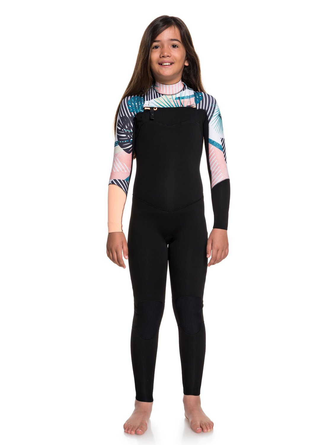 3 2mm POP Surf - Chest Zip Wetsuit for Girls 8-16 3613374364738  14e708416ad