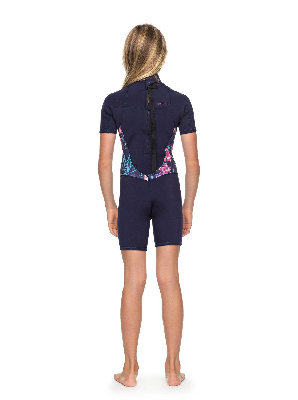 Girl s 7-14 2 2mm Syncro Series Short Sleeve Back Zip FLT Springsuit ... d9398c08e
