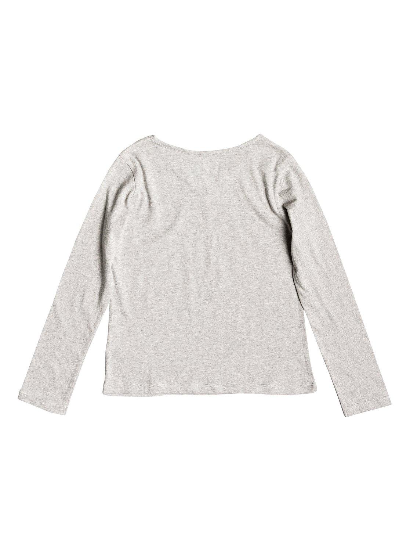 476244e401633 1 Say Something - T-shirt manches longues pour Fille 8-16 ans Gris