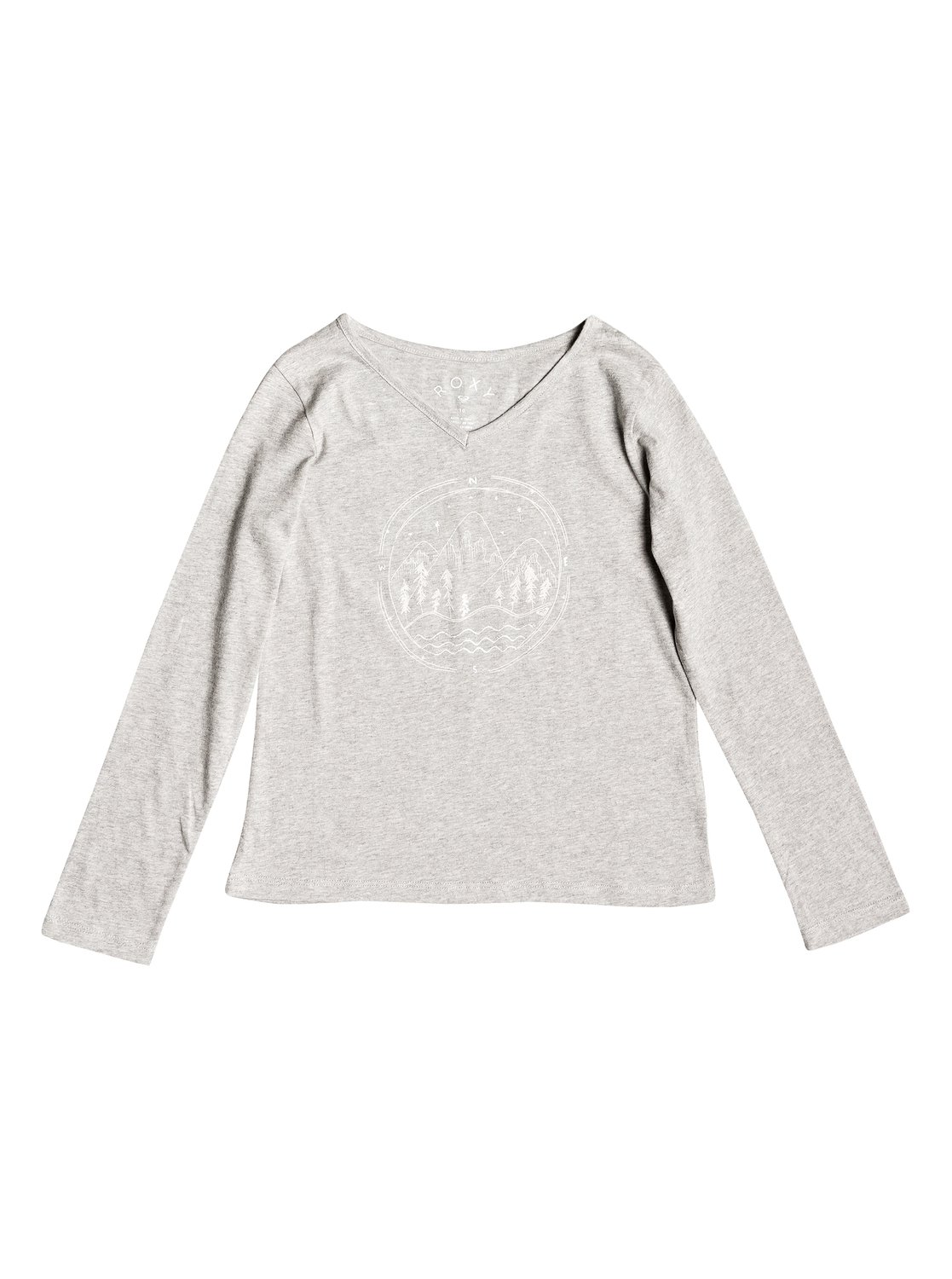 c47dc9ee9a653 0 Say Something - T-shirt manches longues pour Fille 8-16 ans Gris