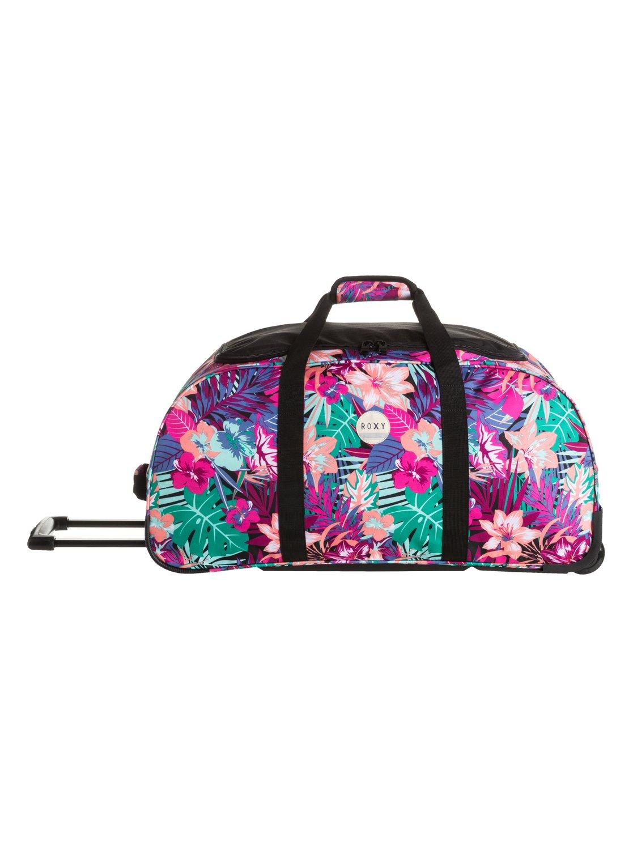 0 Distance Apart - Large Rolling Duffle Bag ERJBL03038 Roxy e1fd9709c6e89