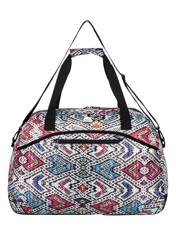 0 Too Far Large Travel Duffle Bag Erjbl03076 Roxy