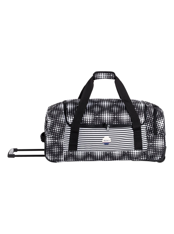 Roxy™ Distance Across - Large Wheeled Duffle Bag - Women - ONE SIZE - Black  1 of 5FREE Shipping ... 89aaa480e36c4