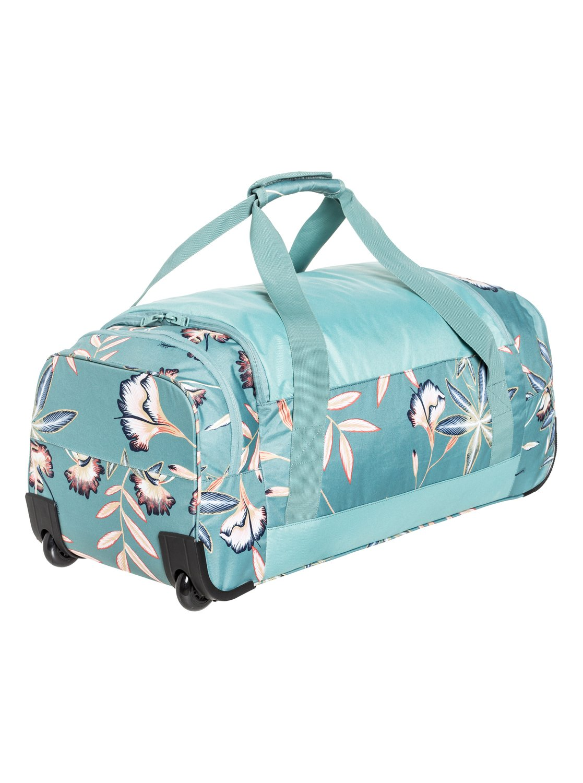 3 Distance Across 60L - Large Wheeled Duffle Bag Blue ERJBL03124 Roxy 10e0b7687b88a