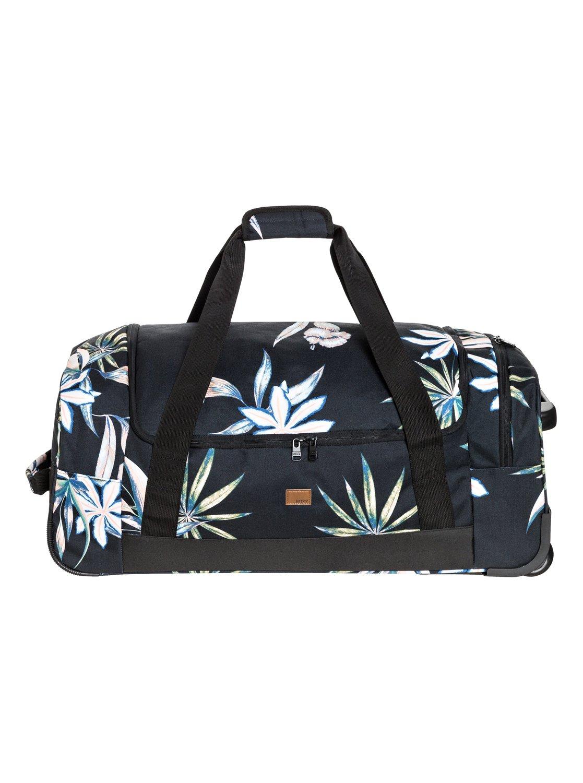 distance across 60l large wheeled duffle bag 191274802305 roxy. Black Bedroom Furniture Sets. Home Design Ideas