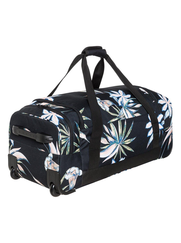 3 Distance Across 60L Large Wheeled Duffle Bag Black ERJBL03137 Roxy 70aa52c15d