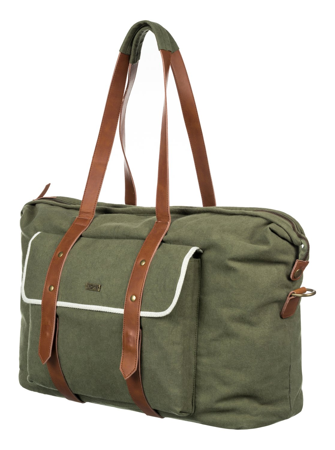 Roxy Beach Entry Weekend Womens Luggage One Size Dusty Olive 0Q26jsO