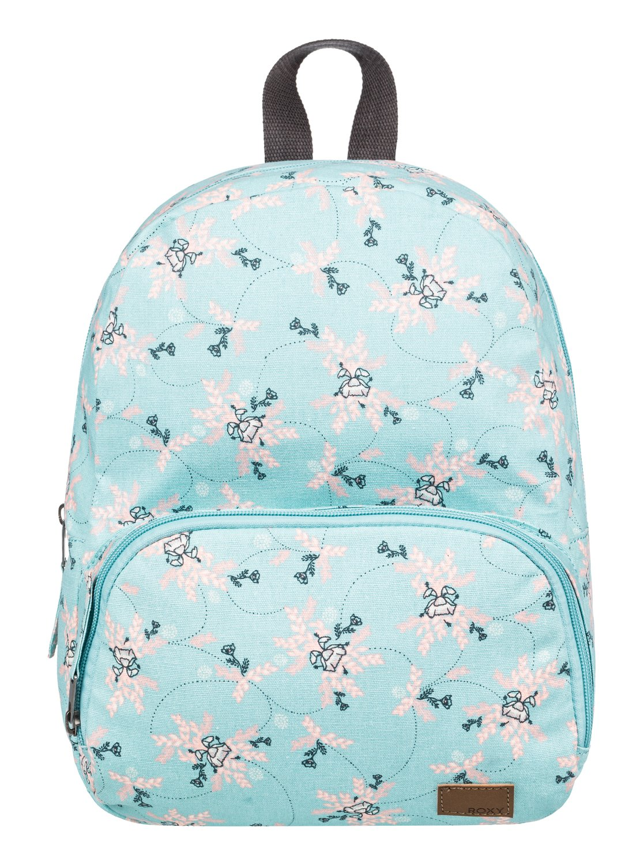 0 Always Core Canvas 8L Extra-Small Backpack Blue ERJBP03830 Roxy 766ddb5b465a6