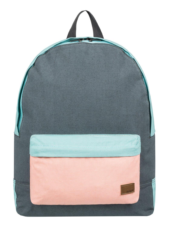 c014a9d0479 Sugar Baby Canvas 16l Small Backpack Erjbp03831 Roxy