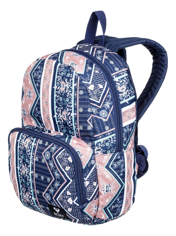 1 Always Core 8L Extra-Small Backpack Blue ERJBP03835 Roxy 99a1d624fd25b