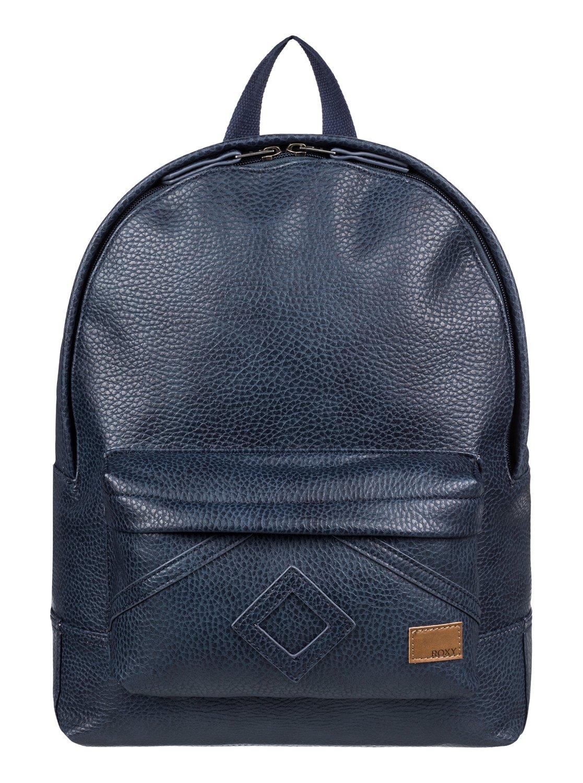 233e8e21e1b2 0 Wild Air 10L - Small Faux Leather Backpack Blue ERJBP03849 Roxy