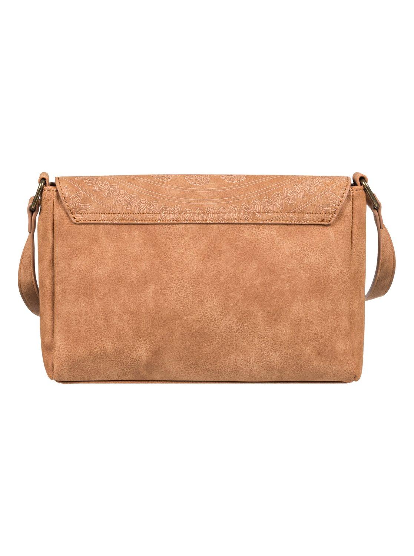 9fc545112169 2 Sunset Road - Small Faux Leather Handbag Orange ERJBP03869 Roxy