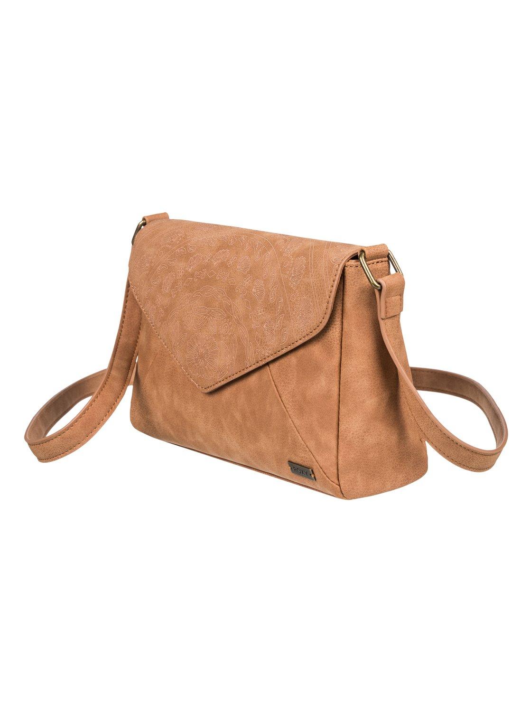 4abe23e24a49 1 Sunset Road - Small Faux Leather Handbag Orange ERJBP03869 Roxy