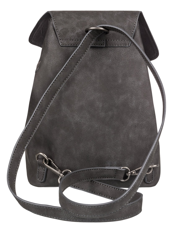 9eaad15b328e 2 Like A River 6L Small Faux Leather Backpack Black ERJBP03875 Roxy