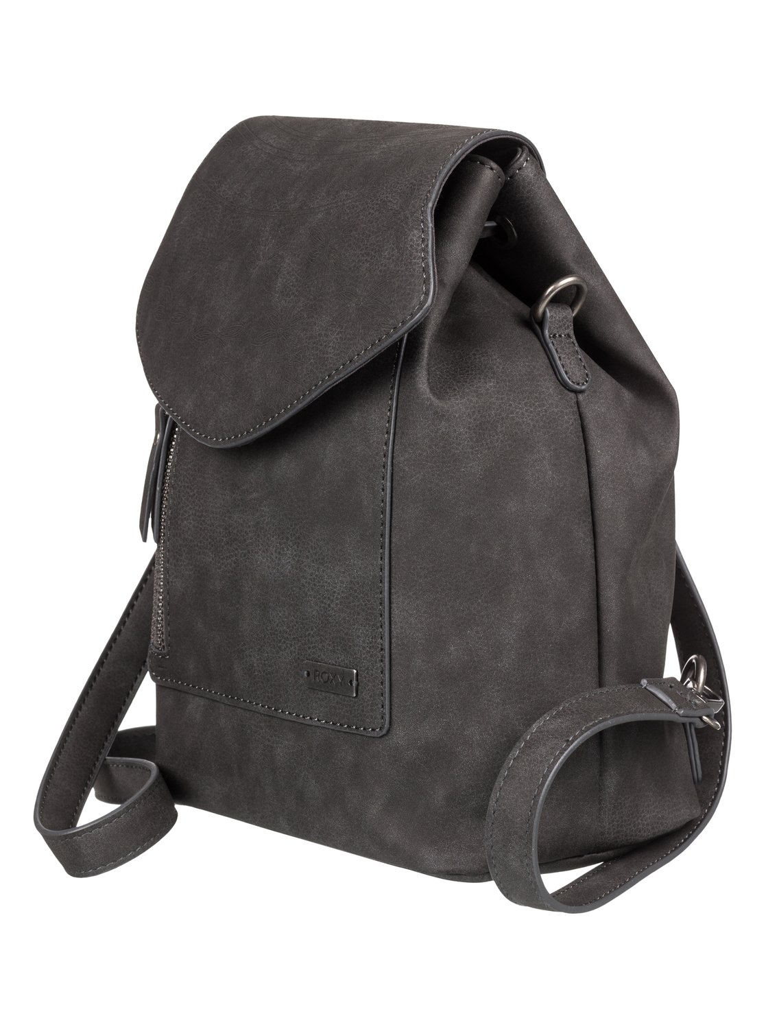 7c1bf8d4425c 1 Like A River 6L Small Faux Leather Backpack Black ERJBP03875 Roxy
