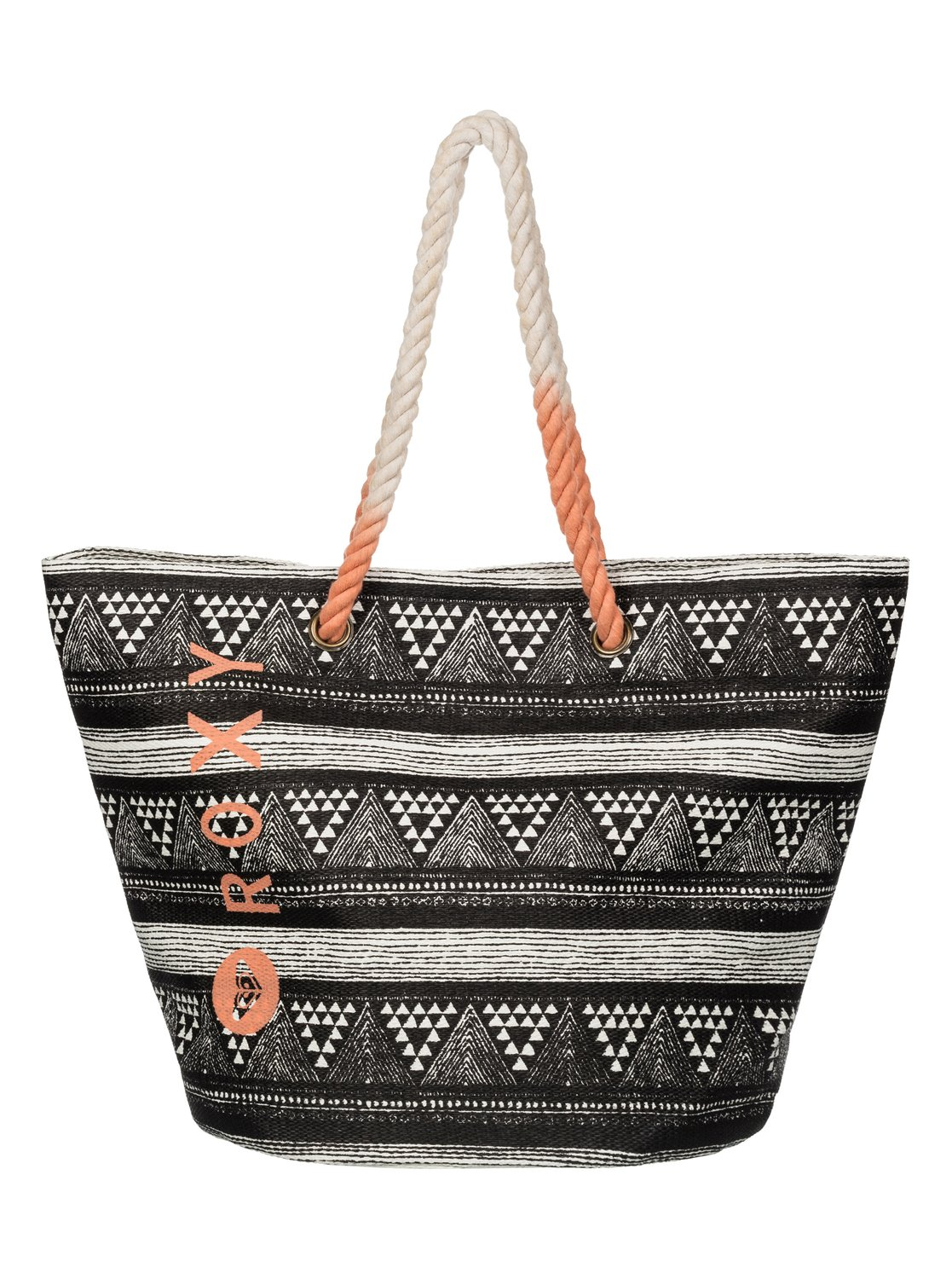 536861d66998 0 Sun Seeker - Beach Tote Black ERJBT03005 Roxy