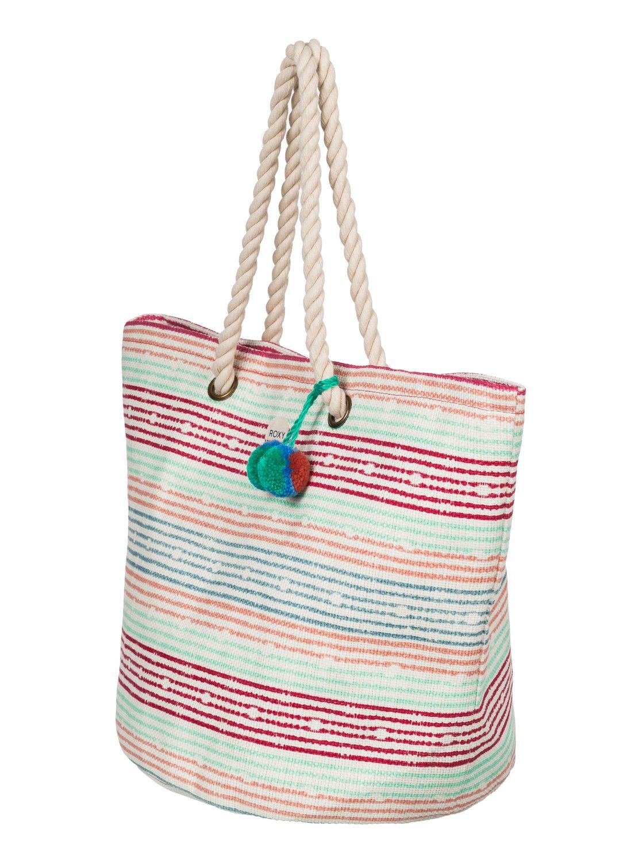 sun seeker sac de plage en paille 3613372393532 roxy. Black Bedroom Furniture Sets. Home Design Ideas