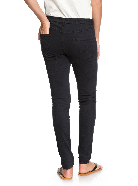 3 Seatripper - Skinny Fit Jeans for Women Black ERJDP03182 Roxy 679ff1b6a5a0