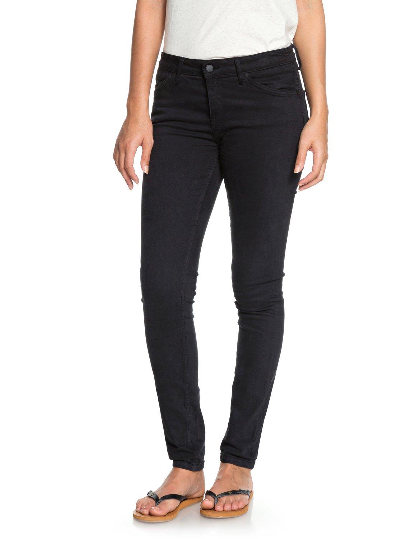 1 Seatripper - Skinny Fit Jeans for Women Black ERJDP03182 Roxy e2abbaa6500d