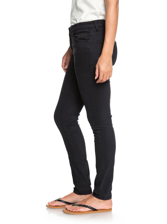 2 Seatripper - Skinny Fit Jeans for Women Black ERJDP03182 Roxy 27d6509d723f