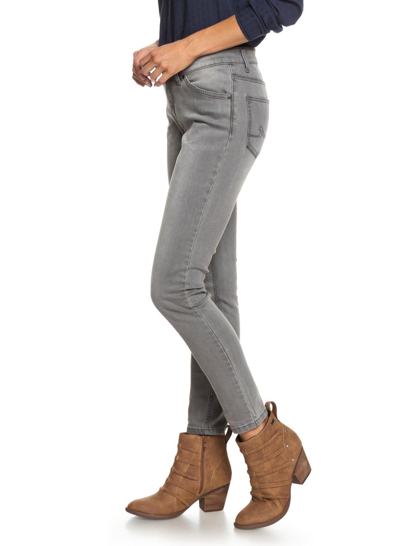 2 Seatripper Skinny Fit Jeans Grey ERJDP03200 Roxy 42c53145381a
