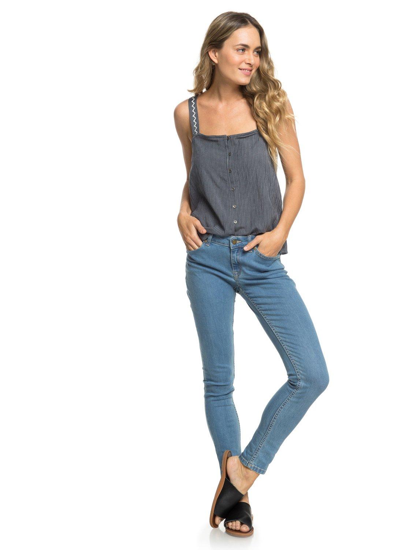 0 Seatripper Skinny Fit Jeans Blue ERJDP03216 Roxy 42021a052f7c