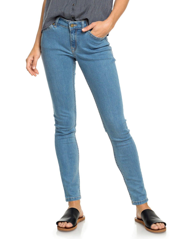 1 Seatripper Skinny Fit Jeans Blue ERJDP03216 Roxy 72b45f97f74d