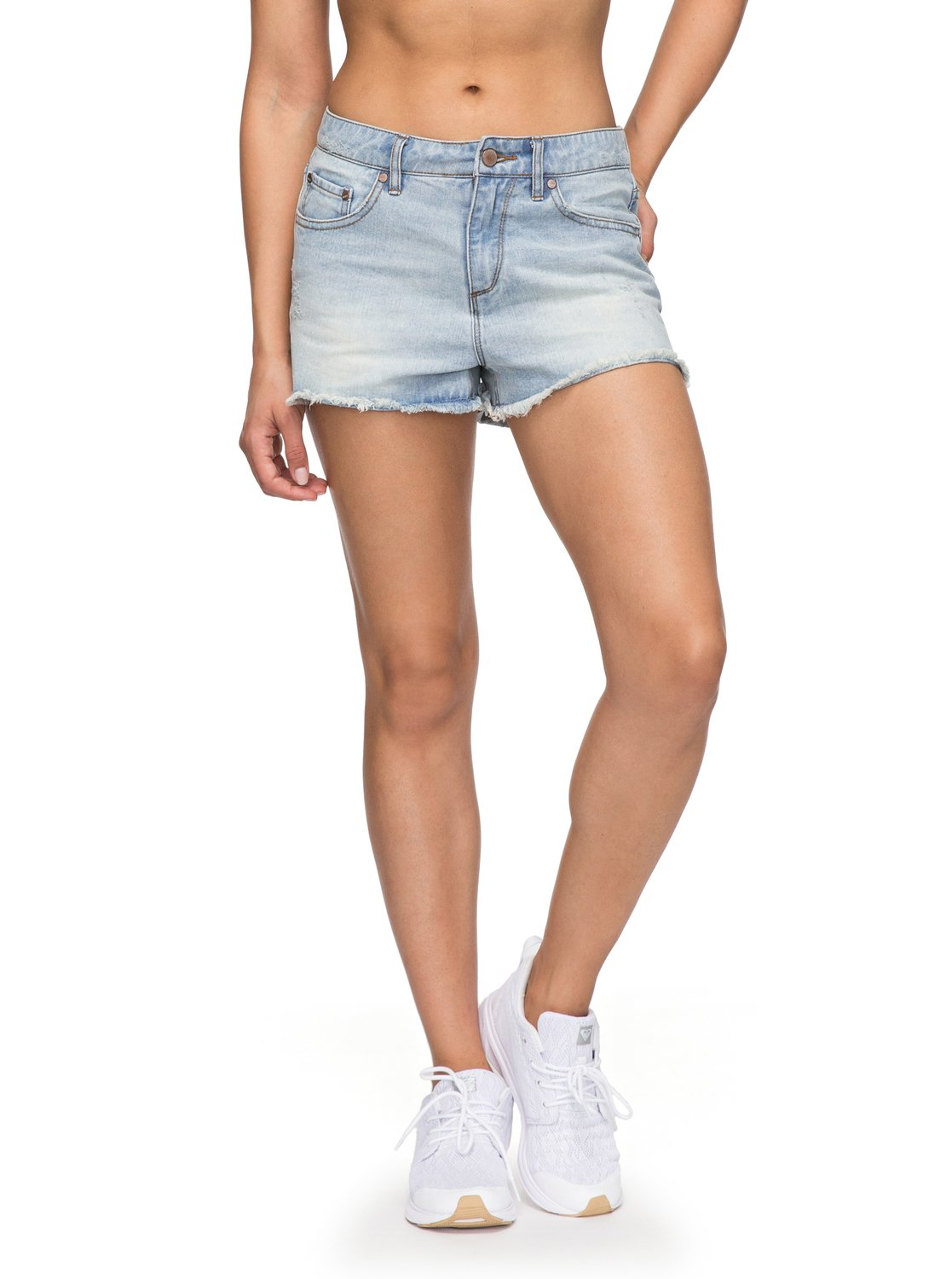 Roxy Little 1 Short Azul Abaco Mujer ERJDS03156 Vaquero para 8dq7rdw