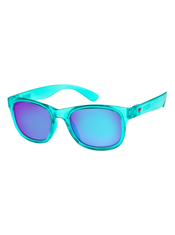 Roxy Sonnenbrille »Runaway«, blau, blue aqua/ml tur