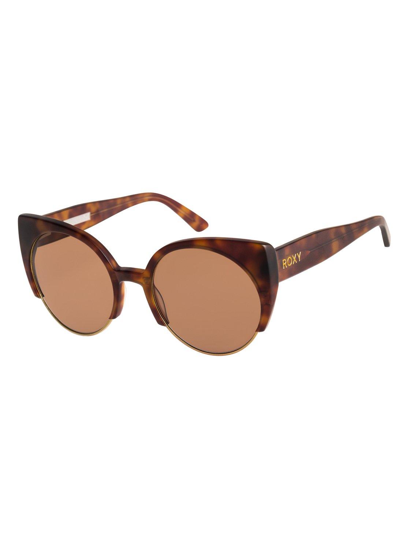 Roxy Sonnenbrille »Moondust«, braun, Matte havana/brown