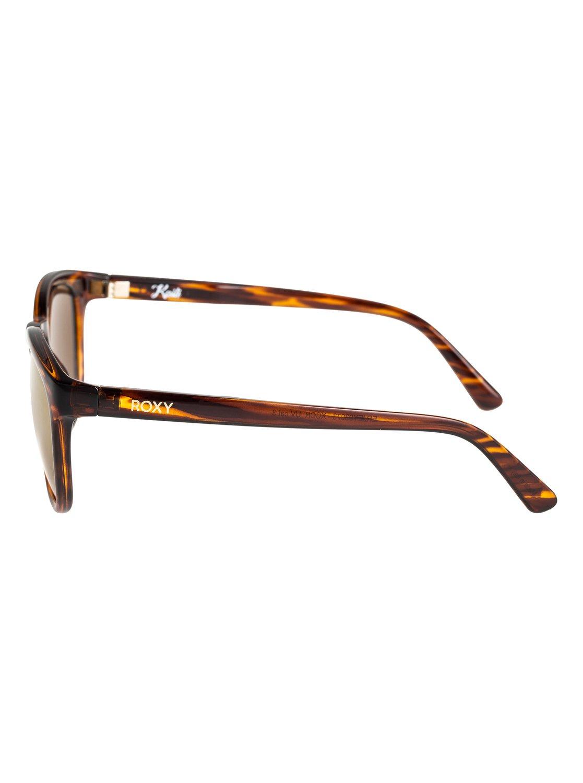 Roxy Sonnenbrille »Kaili«, braun, havana brown/flash