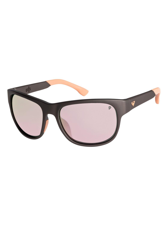 26e9caf9fdc 0 Eris - Polarised Sunglasses for Women Grey ERJEY03085 Roxy