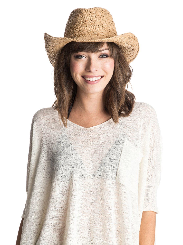 1 Cowgirl Straw Hat ERJHA03111 Roxy bfa67fdeab8e