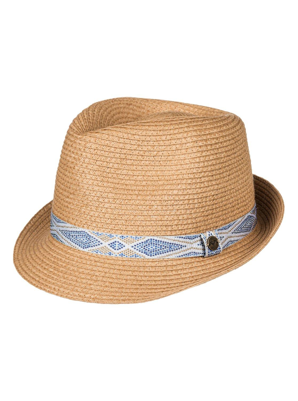 90f350faca4 0 Sentimiento Straw Fedora Hat ERJHA03362 Roxy