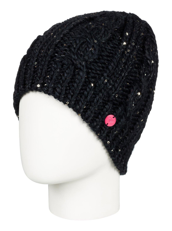 0 Glacialis , Bonnet pour Femme Noir ERJHA03413 Roxy