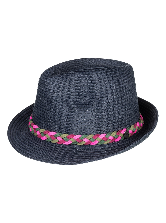 0 Sentimiento Straw Trilby Hat Blue ERJHA03452 Roxy 33cb8eddc74