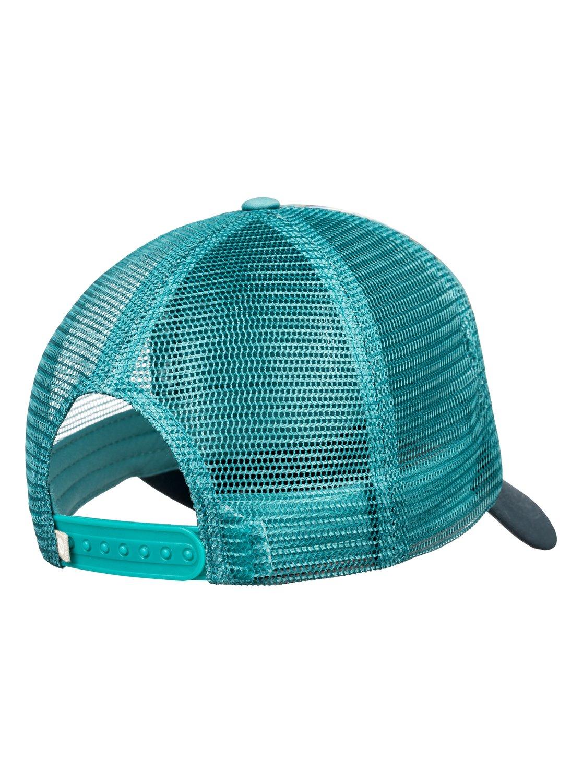 2 Water Come Down Trucker Hat Blue ERJHA03478 Roxy 092575575cec