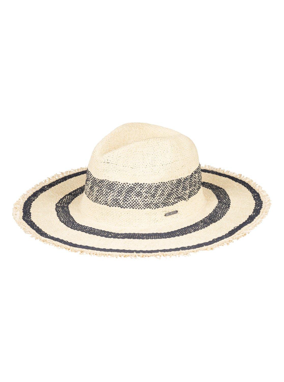 0 Sound Of The Ocean Straw Sun Hat Blue ERJHA03522 Roxy 4fa63a7350e