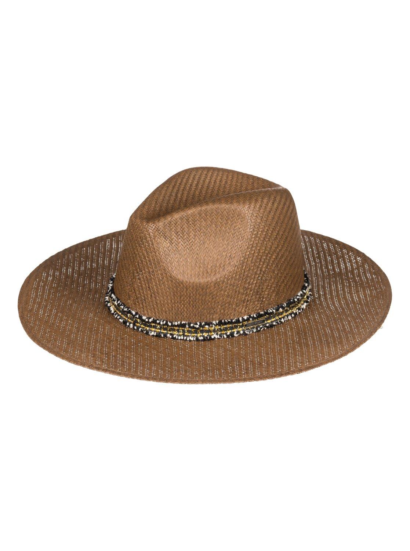 c89dd412af4 0 Here We Go Straw Sun Hat Brown ERJHA03526 Roxy