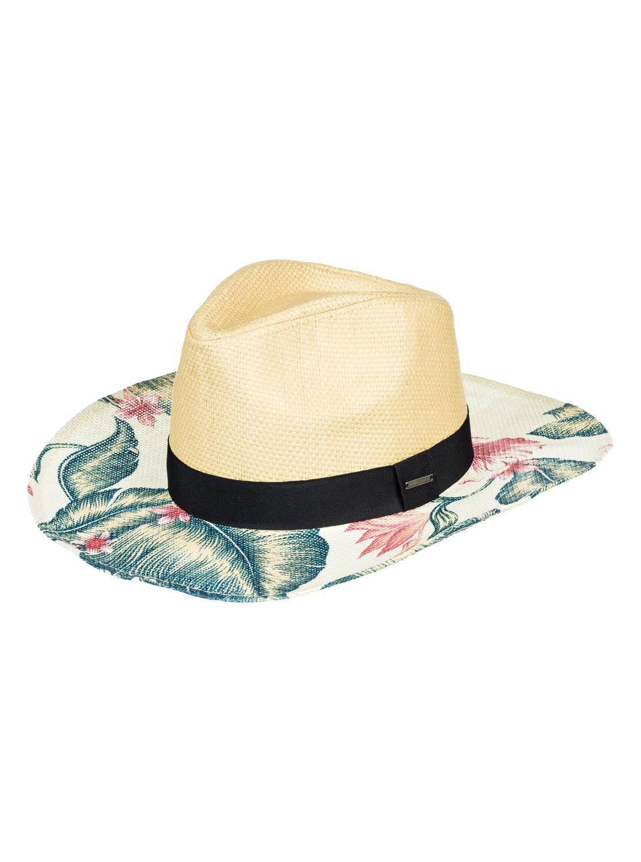 0 Look For Rainbows - Cappello da Cowboy in Paglia da Donna White  ERJHA03527 Roxy f4129c9a2d95