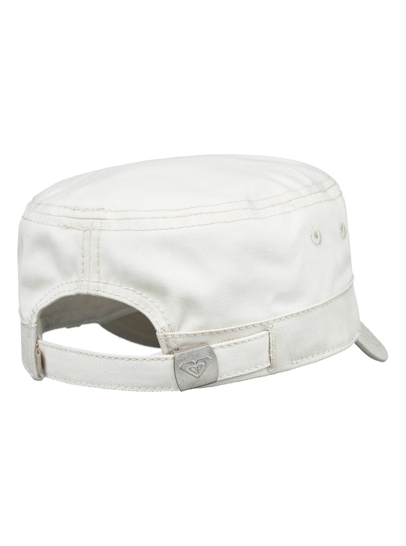 2 Castro Color Military Hat White ERJHA03541 Roxy baa240a6be04