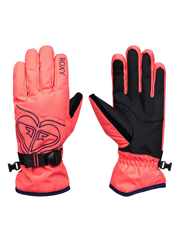 0 Poppy - Snowboard Ski Gloves ERJHN03062 Roxy 0ccb0ec4fd