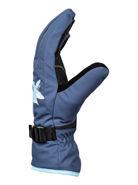 1 Freshfield - Gants de ski snowboard pour Femme Bleu ERJHN03099 Roxy e1c95249271