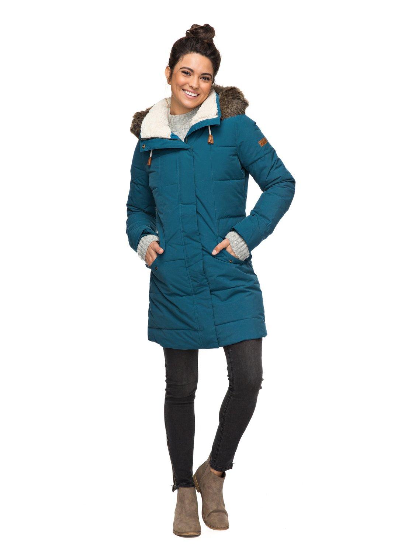 Roxy-Ellie-5K-Chaqueta-larga-impermeable-con-capucha-para-Mujer-ERJJK03186
