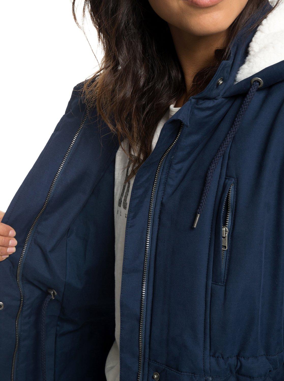 Waterproof Padded Chic Hooded Roxy Jacket Slalom ERJJK03231 4wZFqZ