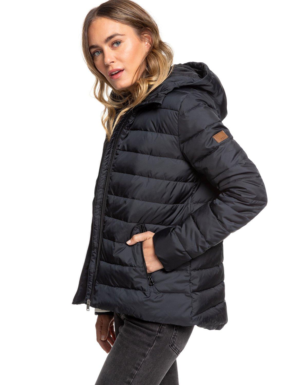 1 Rock Peak - Water Repellent Padded Jacket for Women Black ERJJK03250 Roxy e154b5127a7