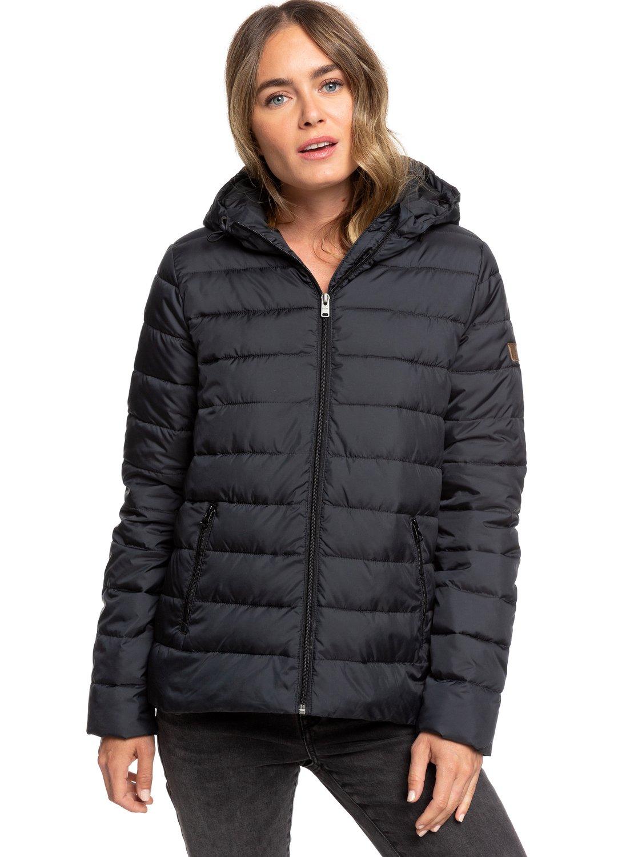 2 Rock Peak - Water Repellent Padded Jacket for Women Black ERJJK03250 Roxy 6ca77fc4a82