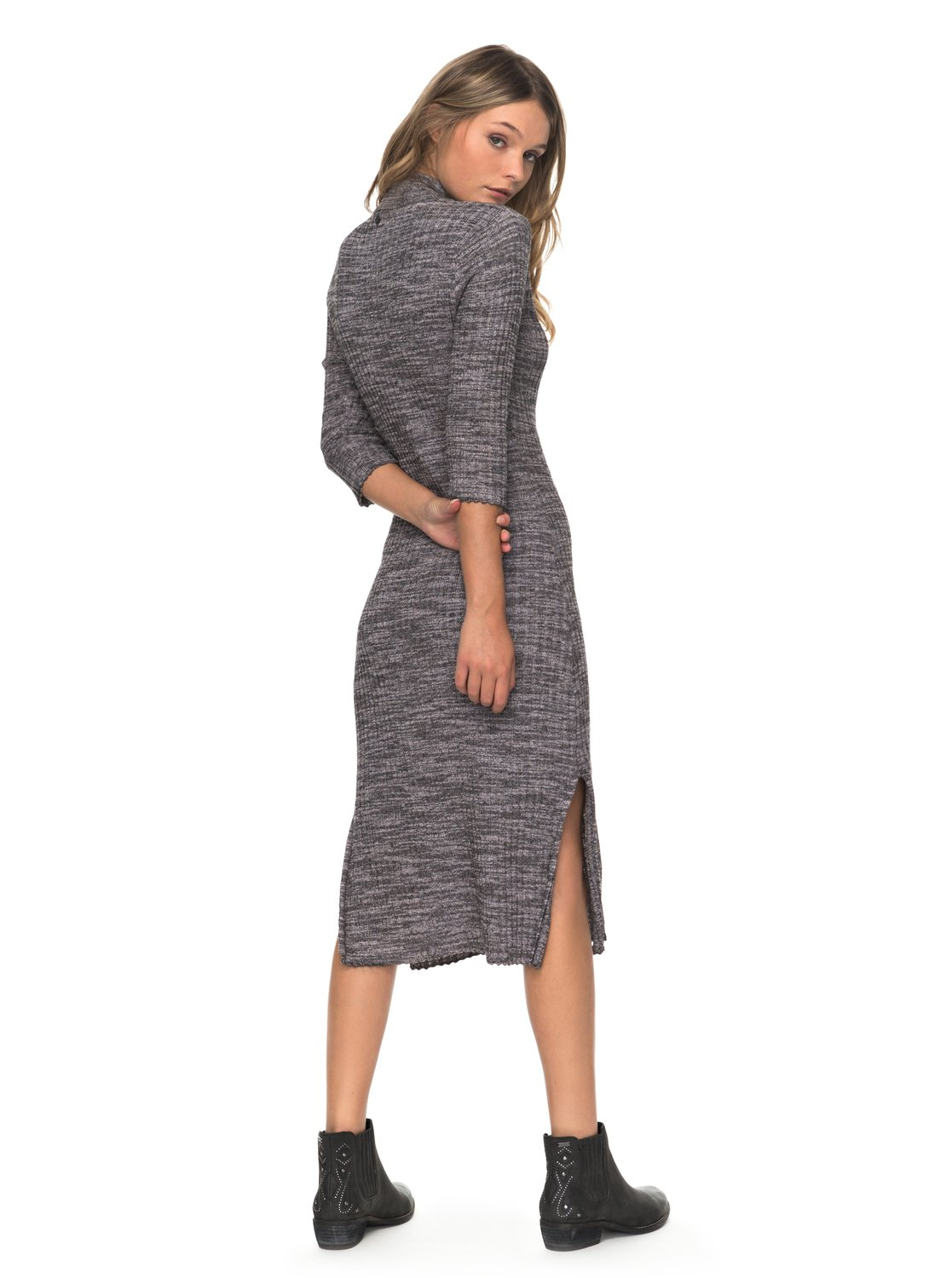 2 Hello Fall Midi Turtleneck Dress ERJKD03155 Roxy 754eac591